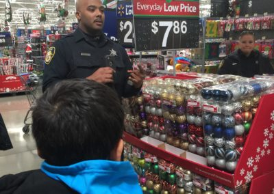 H.O.M.E. Presents: Shop With A Cop At Waltmart 2016